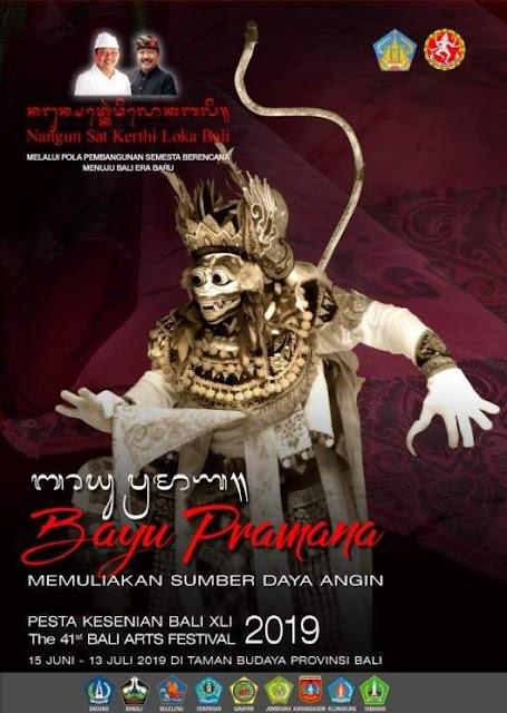 Tema Pesta Kesenian Bali (PKB) 2019 Bayu Pramana