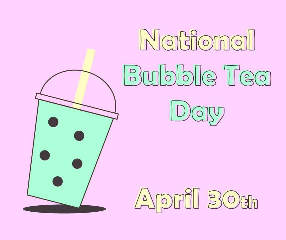 National Bubble Tea Day Wishes Beautiful Image
