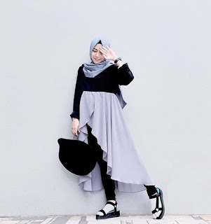 fashion hijab remaja pesta