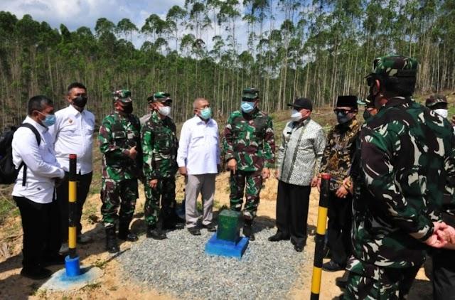 Tim Pokja Tinjau Lokasi Persiapan Pembangunan IKN