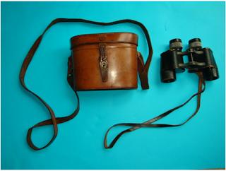Set of German Prismatic 8x30 binoculars belonging to R.C. Alexander of the Irish Guards