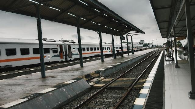 Stasiun Blitar yang sepi