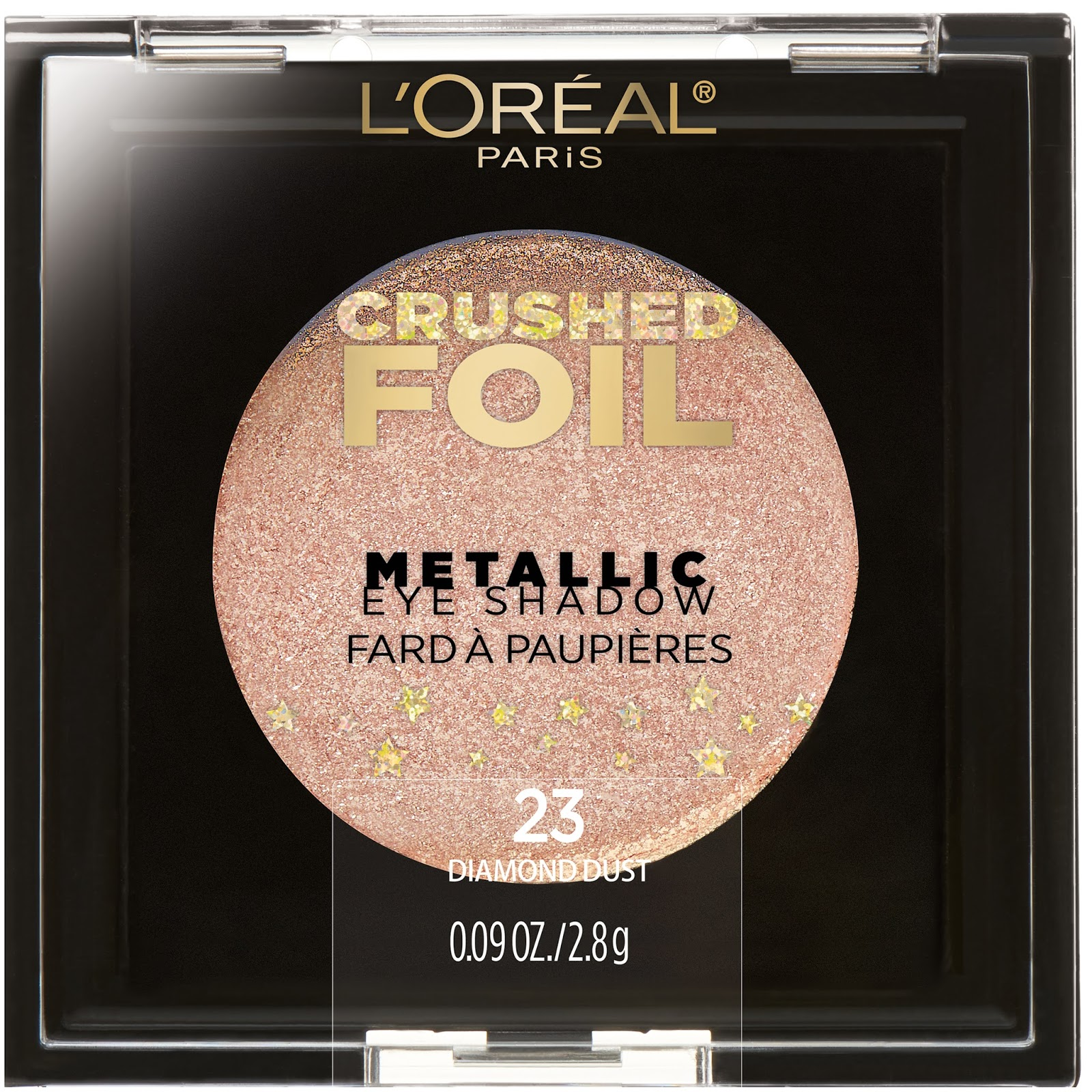 Loral Introduces The Crushed Foils Collection Available Inez Color Contour Plus Loose Eyeshadow Powder Sparkling Silver Diamond Dust