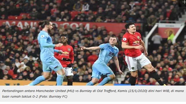 Prediksi Liga Inggris Burnley Vs Manchester United: Momentum ke Puncak