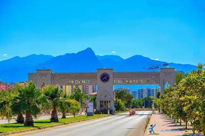 جامعة اكدنيز ( Akdeniz üniversitesi ) مفاضلة عام 2020