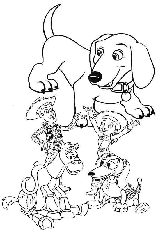 Sonhando com cores: Toy Story - mais alguns desenhos para ...