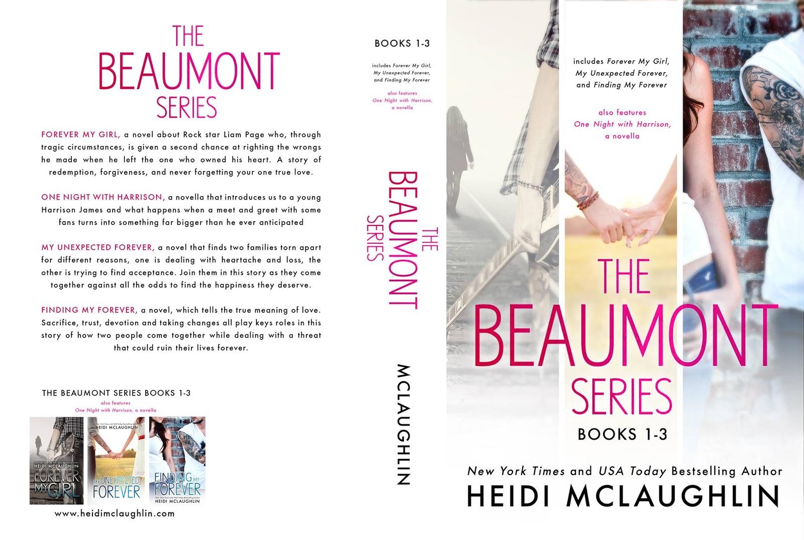Release Blitz: Beaumont Series Boxed Set by Heidi McLaughlin