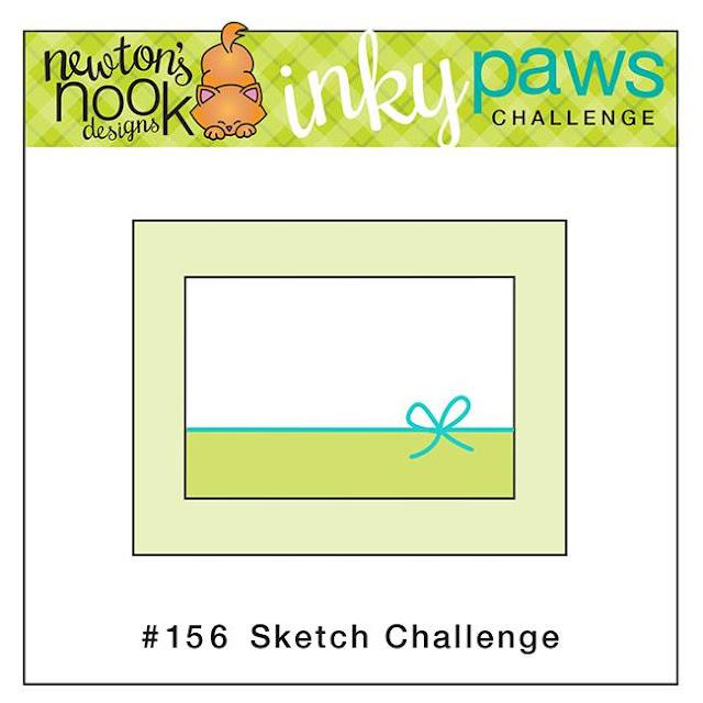 Newton's Nook Design Inky Paws Challenge - Sketch Challenge
