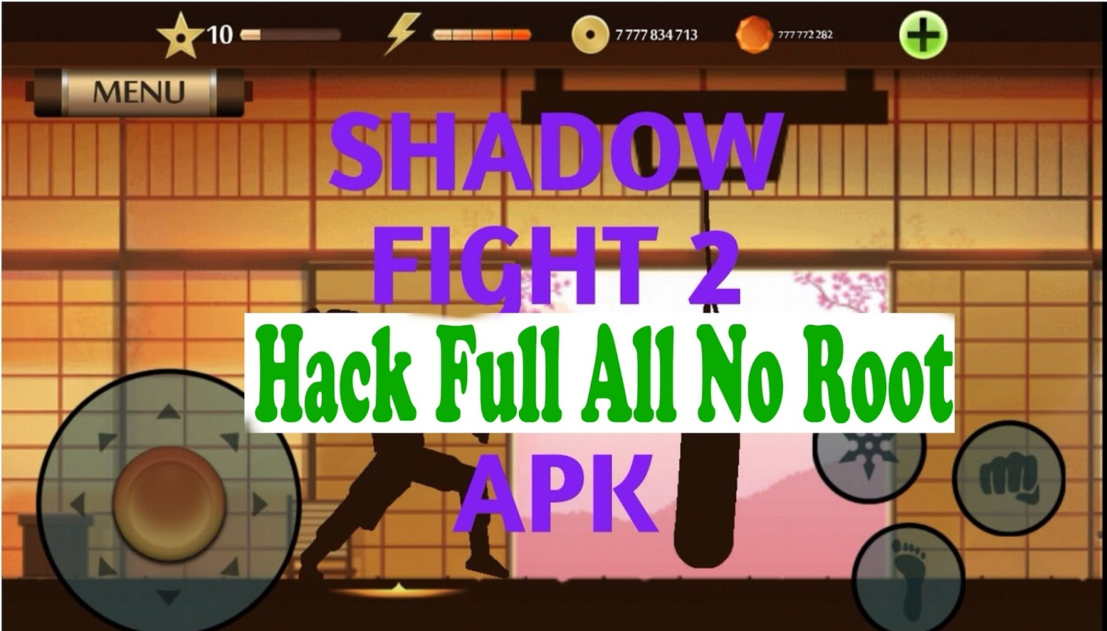 shadow fight 2 hack cho ios