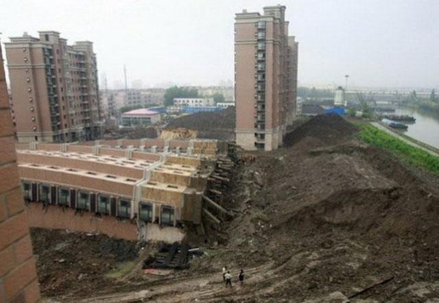 Robohnya Apartemen di Shanghai