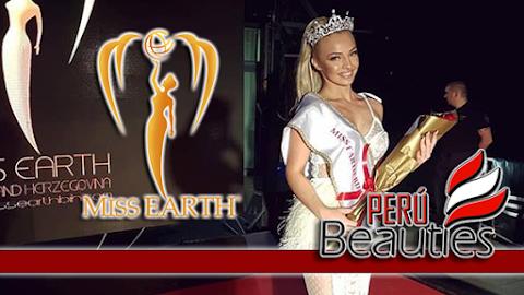 Dzejla Korajlić es  Miss Earth Bosnia & Herzegovina 2019