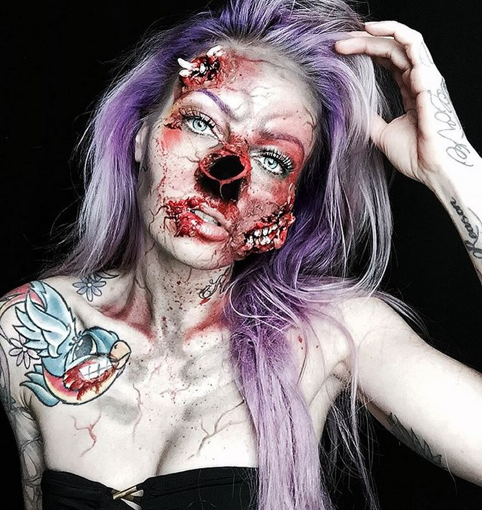 Makeup Artist Will Scare You To Death