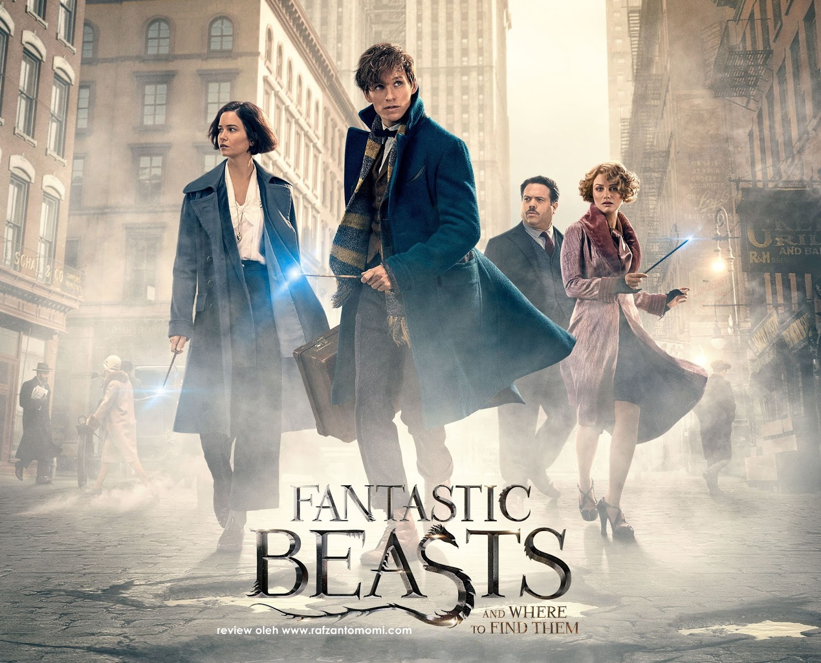 Review Filem Fantastic Beasts and Where to Find Them
