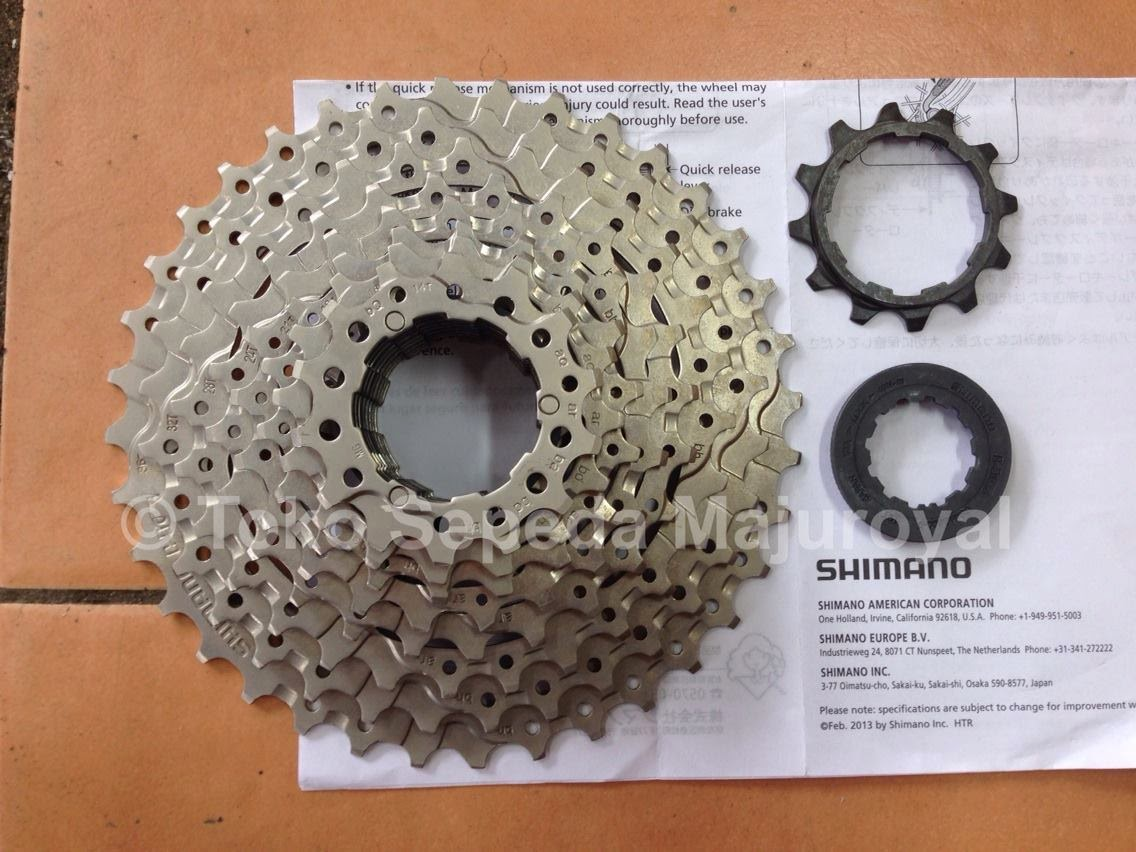 Sprocket 9 speed 12-36T