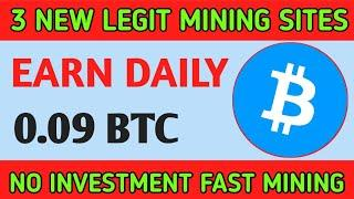 30$ Live Withdrawal New Bitcoin Mining Website Free Bitcoin Earning Site 2020 Free BTC Mining
