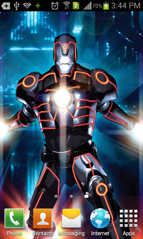 Android Games & Apps: Iron Man 3 Live Wallpaper v1.0