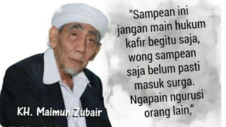 Mbah Maimoen Zubair : Islam Nusantara Harus Menjaga Ukhuwah
