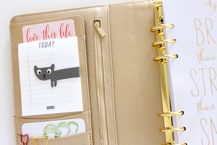 Review: Large Kikki.K Planner in Gold