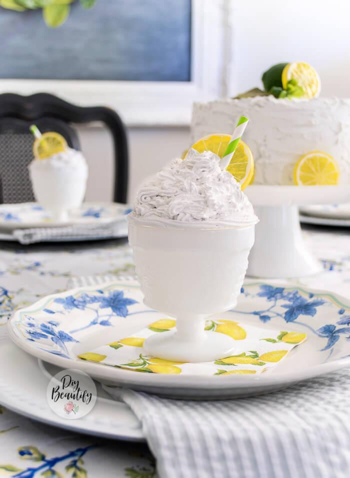faux summer desserts