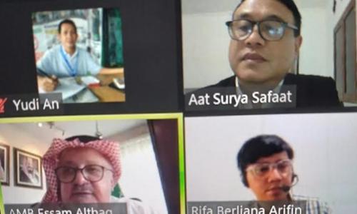 Diskusi Dubes Saudi dengan SMSI, Bahas Haji dan Pendidikan