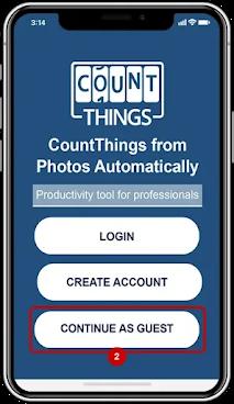 برنامج لعد الأشياء تلقائيًا باستخدام جهاز الموبايل فقط