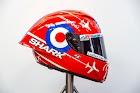 Pagah di MotoGP Inggris, Sam Lowes Gunakan Helm dengan Livery Khusus