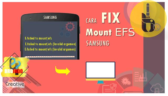 Cara Mengatasi E:failed to mount /efs (Invalid argument) Pada Samsung Galaxy S III