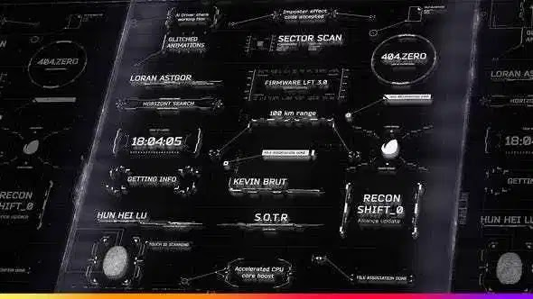 Videohive HUD Titles and Call-Outs Pack 28399461