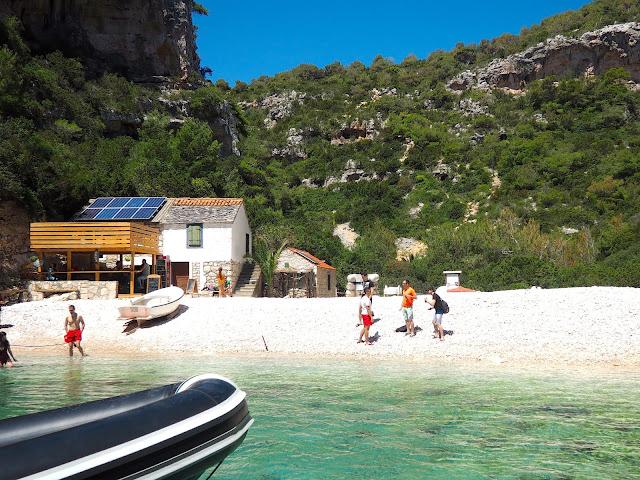 Stiniva Beach, Vis, Dalmatian Coast Islands, Croatia