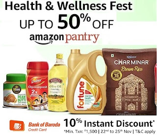 Amazon Pantry Health and Wellness Fest