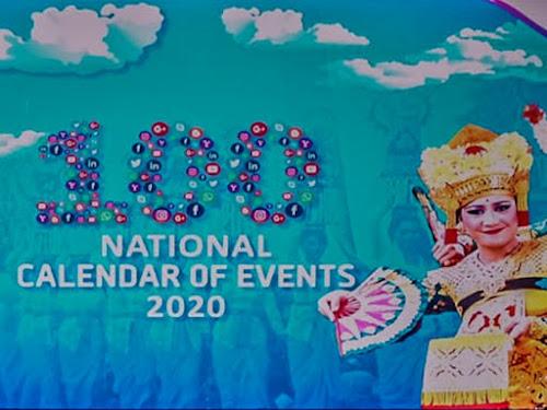 Kalender event wisata Indonesia 2020