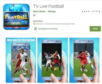 aplikasi live streaming bola terbaik dan gratis