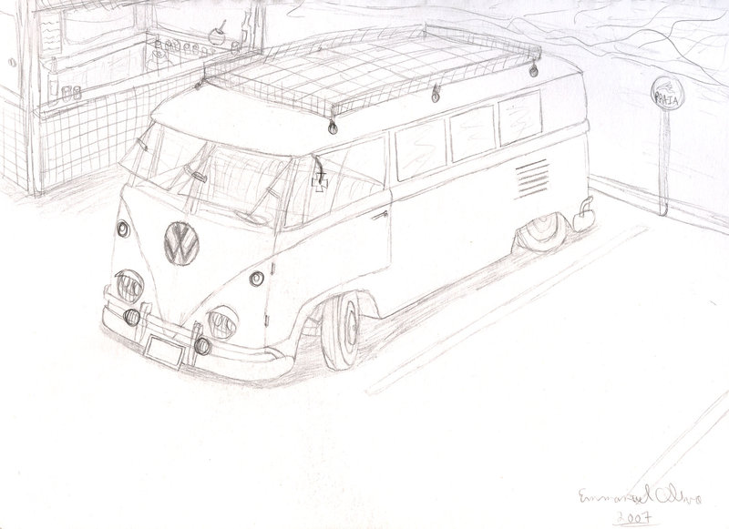 Avercombis & Afiches: SKETCH BUS