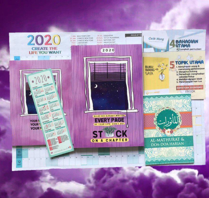 Planner Muslimah 2020