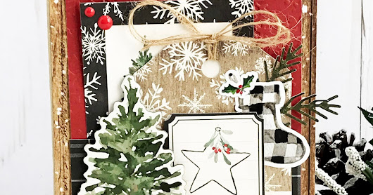 Deck the Halls card | Carta Bella Christmas collection