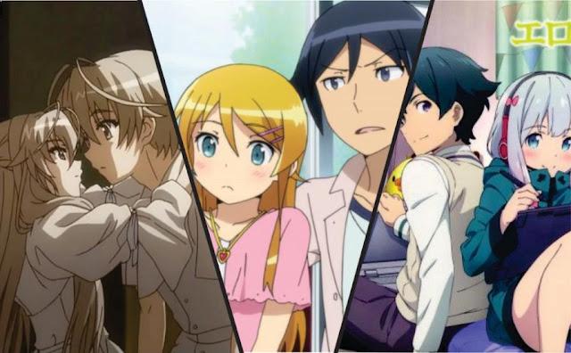 Top Siscon or Brocon Anime List