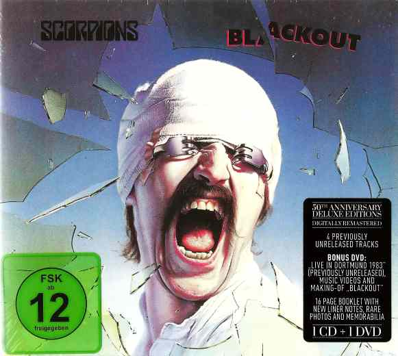 SCORPIONS - Blackout (50th band anniversary Deluxe Edition) (2015) full