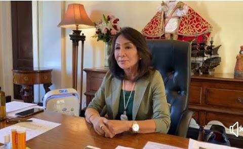 Governor Gwen Garcia Placed Cebu Province under Enhanced Community Quarantine starting March 27