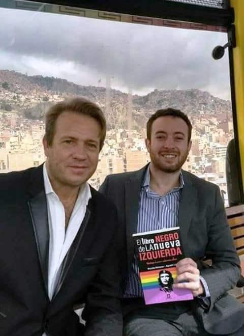 Nicolás Márquez y Agustín Laje estuvieron una semana en La Paz y Oruro