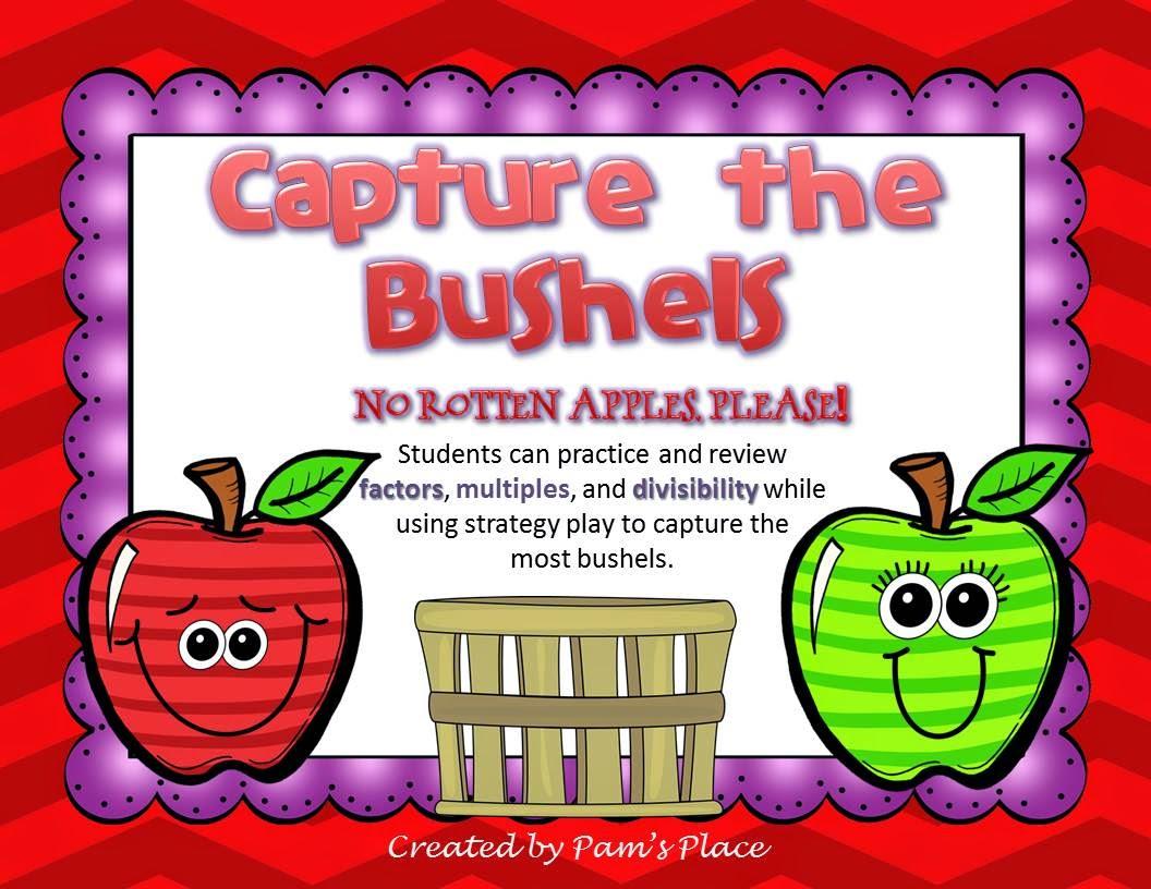 http://www.teacherspayteachers.com/Product/Multiples-and-Factors-Capture-the-Bushels-1272496