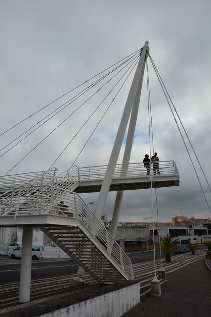 Ponta Delgada pedestrian bridge