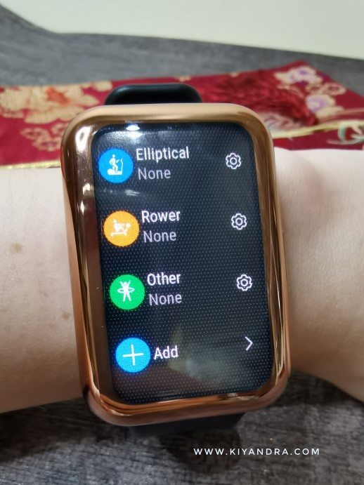 96 Workout Mode Huawei Watch Fit