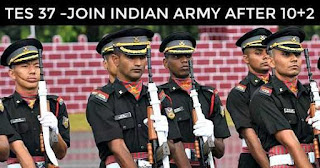 Indian army TES 37