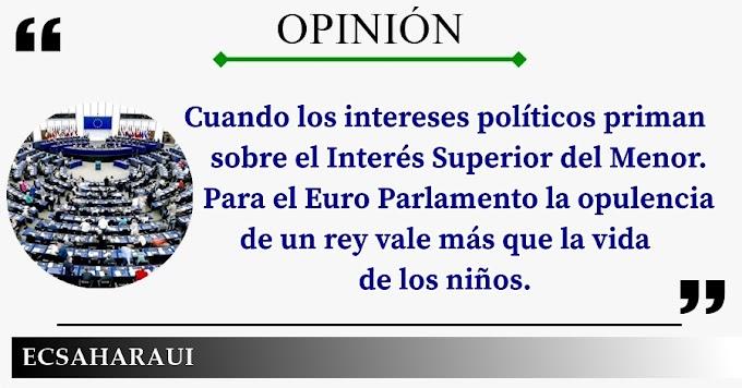 """La miseria moral del Euro Parlamento; la palabra """"CONDENA"""" no asoma por ningún lado en la infame resolución sobre Marruecos."""