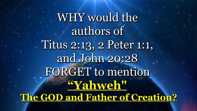 Titus 2-13, 2 Peter 1-1, and John 20-28.