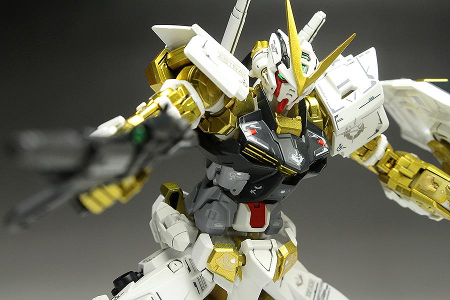 GUNDAM GUY: P-Bandai Exclusive: RG 1/144 Gundam Astray Gold Frame ...