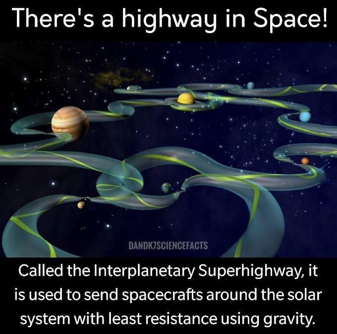Space Highway | NASA map | Interplanetary way