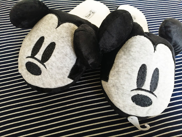 Mickey slippers from Typo