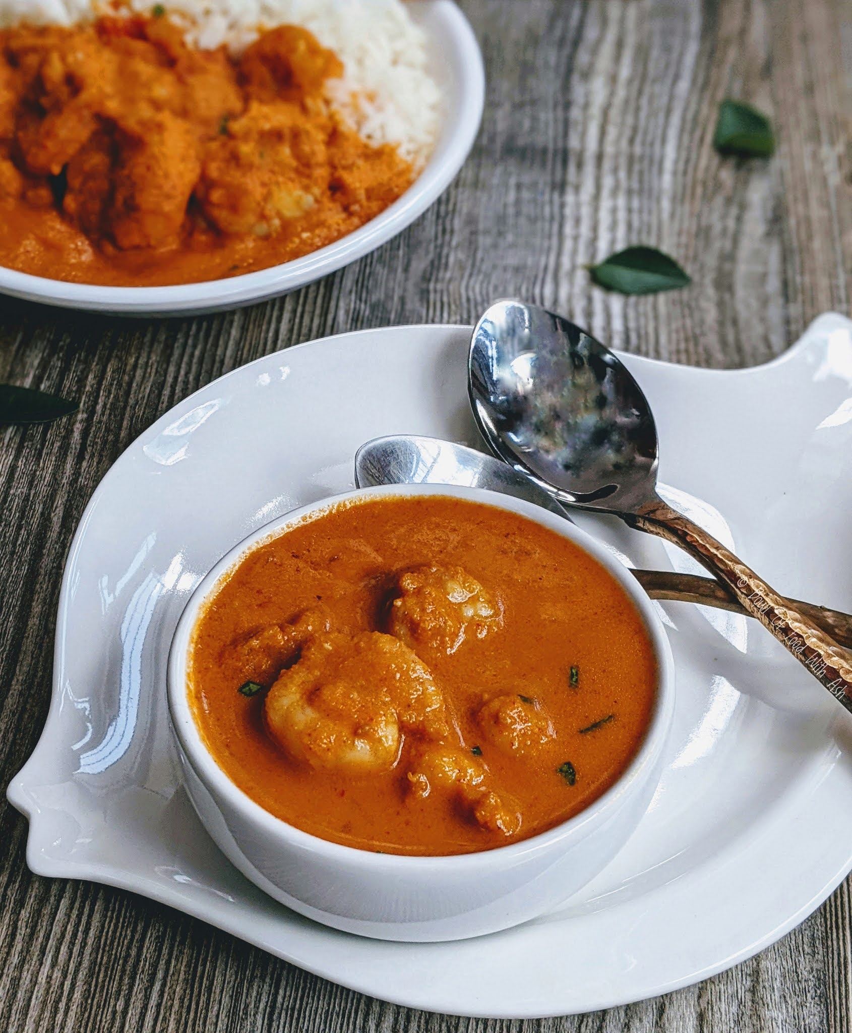 Shrimp Coconut Curry Recipe | How to Make Prawn Gassi Recipe