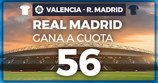 Paston Megacuota liga Valencia vs Real Madrid 15-12-2019